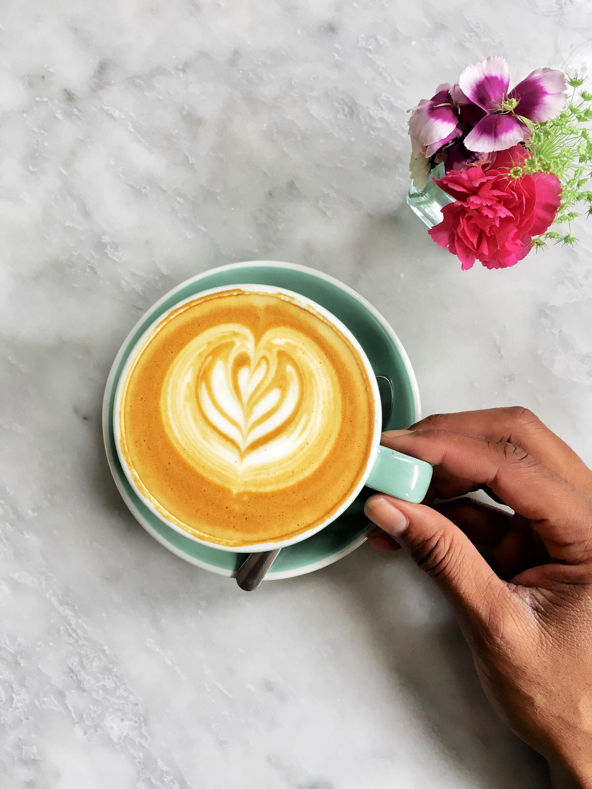 latte art the collins quarter