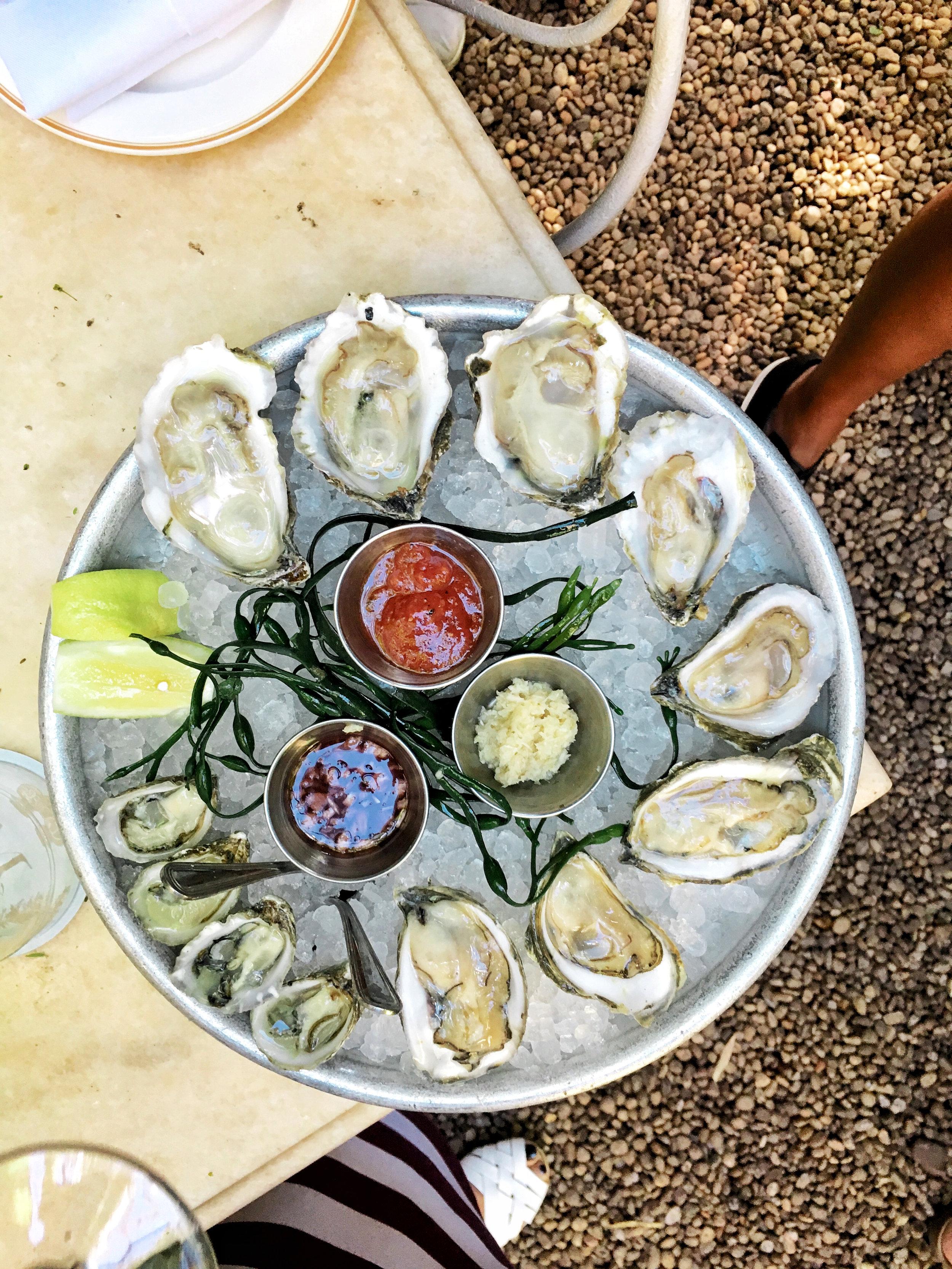 maison premiere oysters