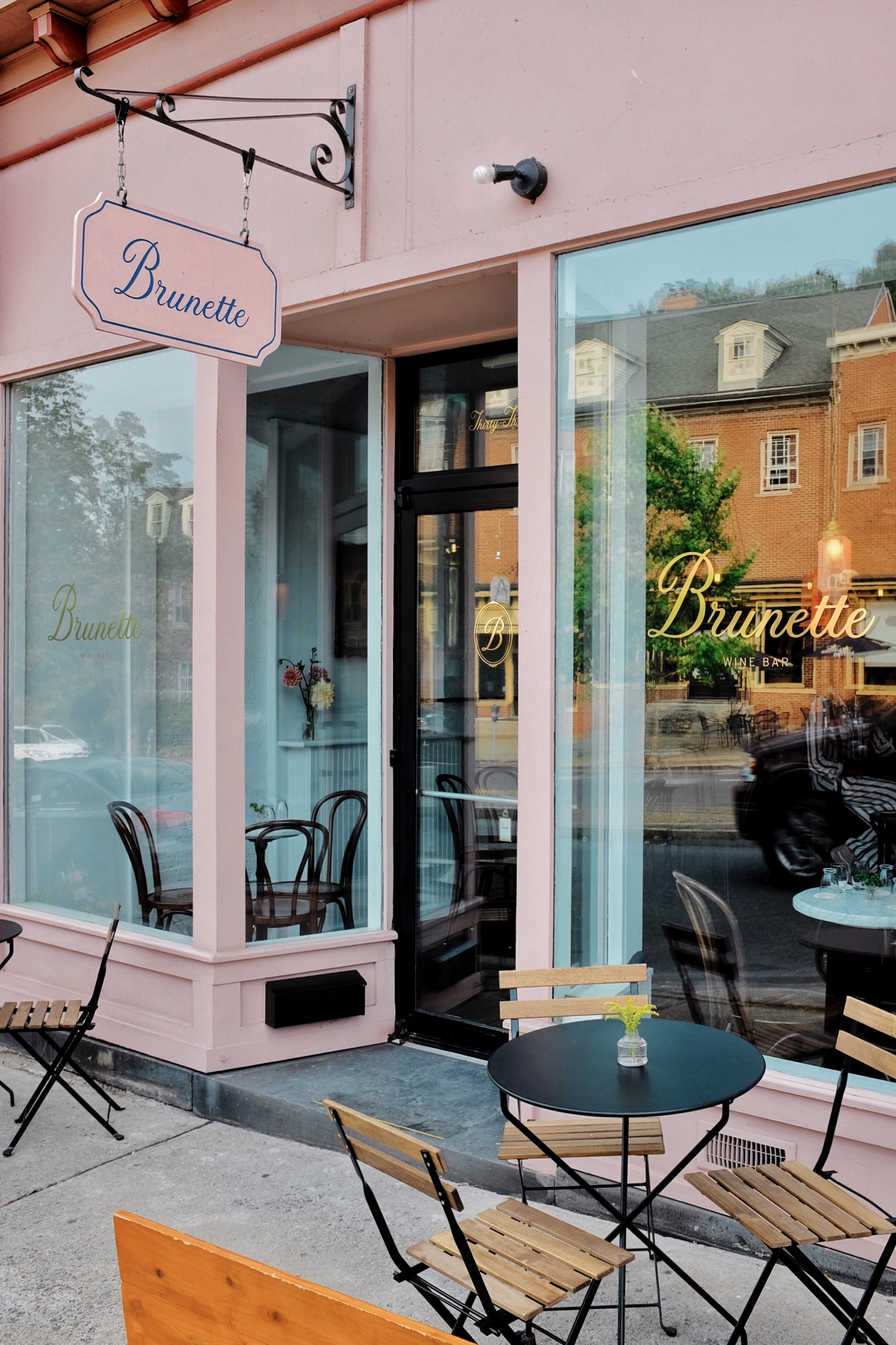 brunette wine bar places to eat in kingston ny