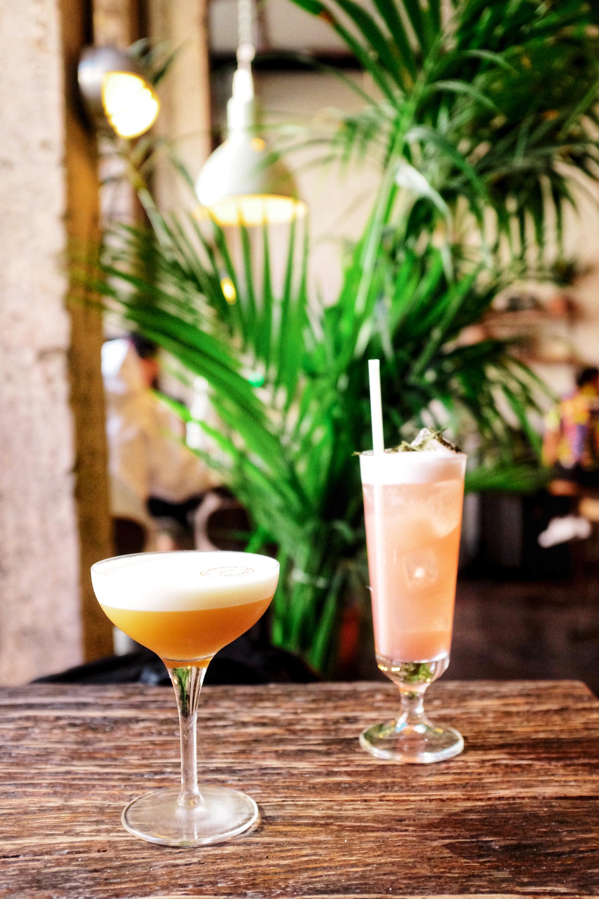 cocktails at som saa east london