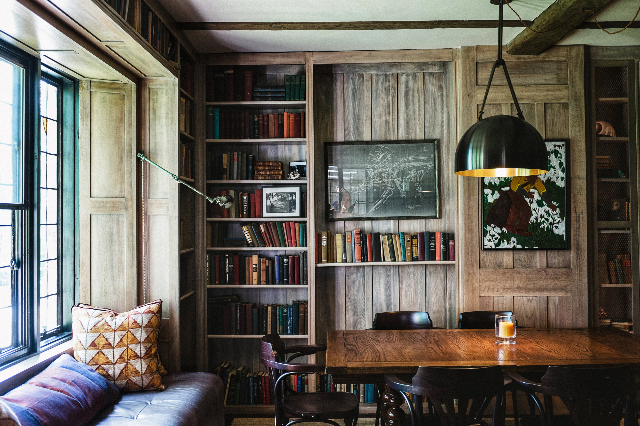 library at troutbeck
