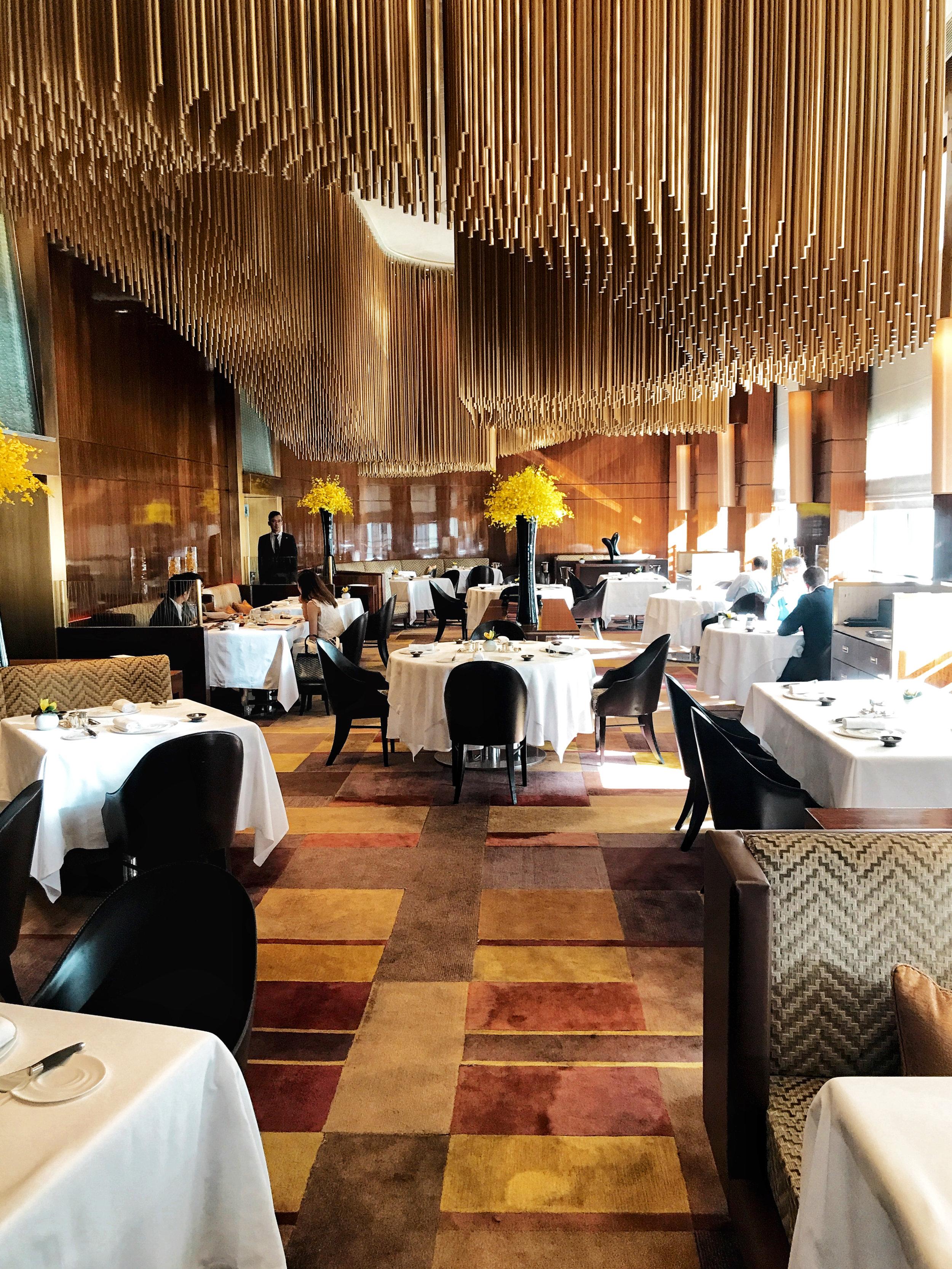 amber dining The Landmark, Mandarin Oriental