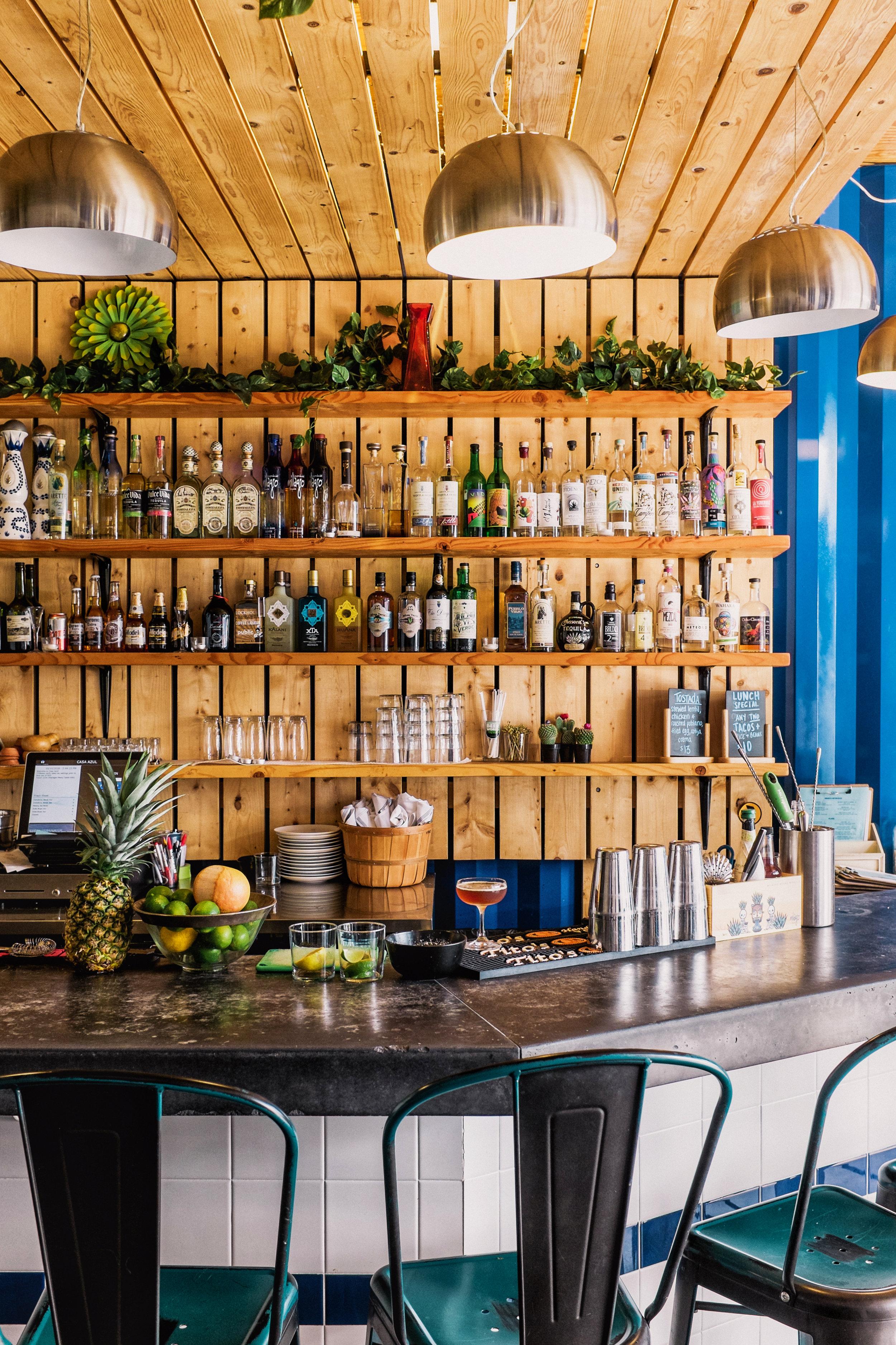 bar at casa azul buffalo