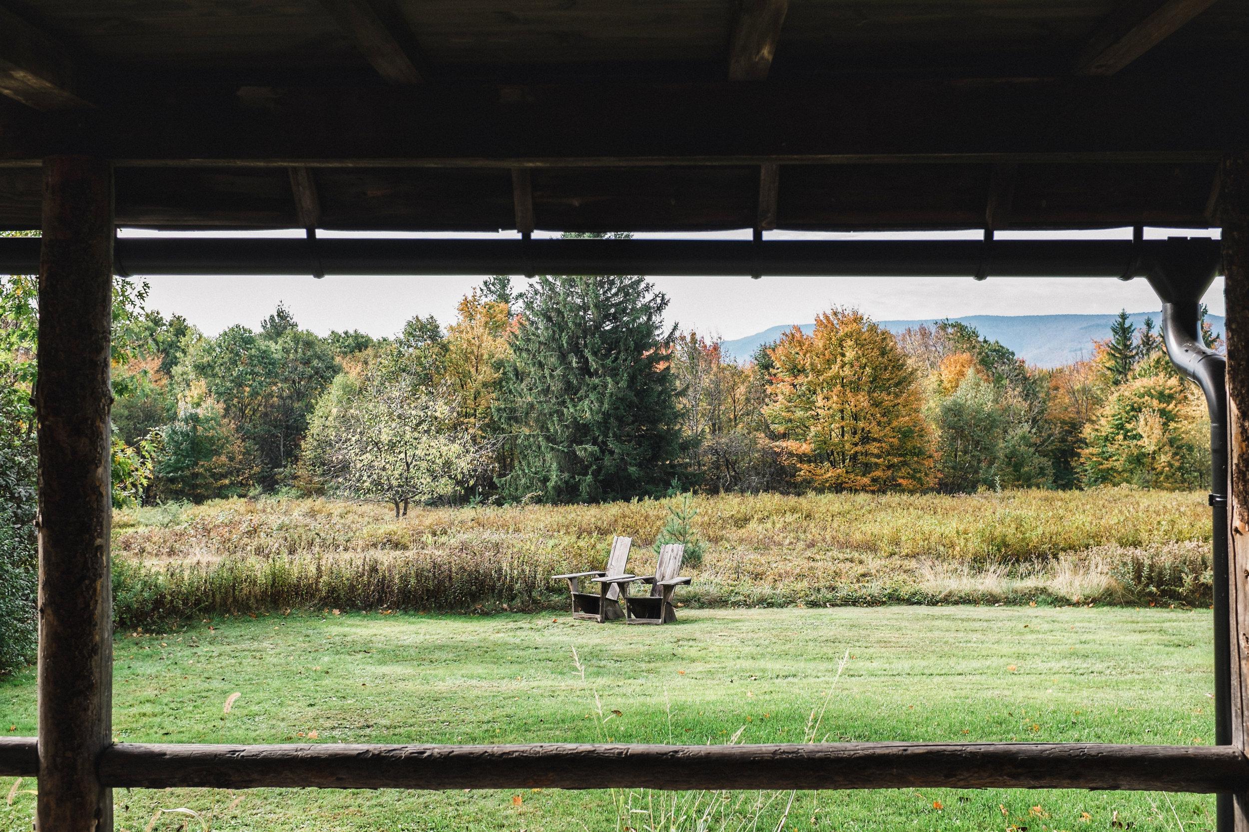 fall at hayfield catskills