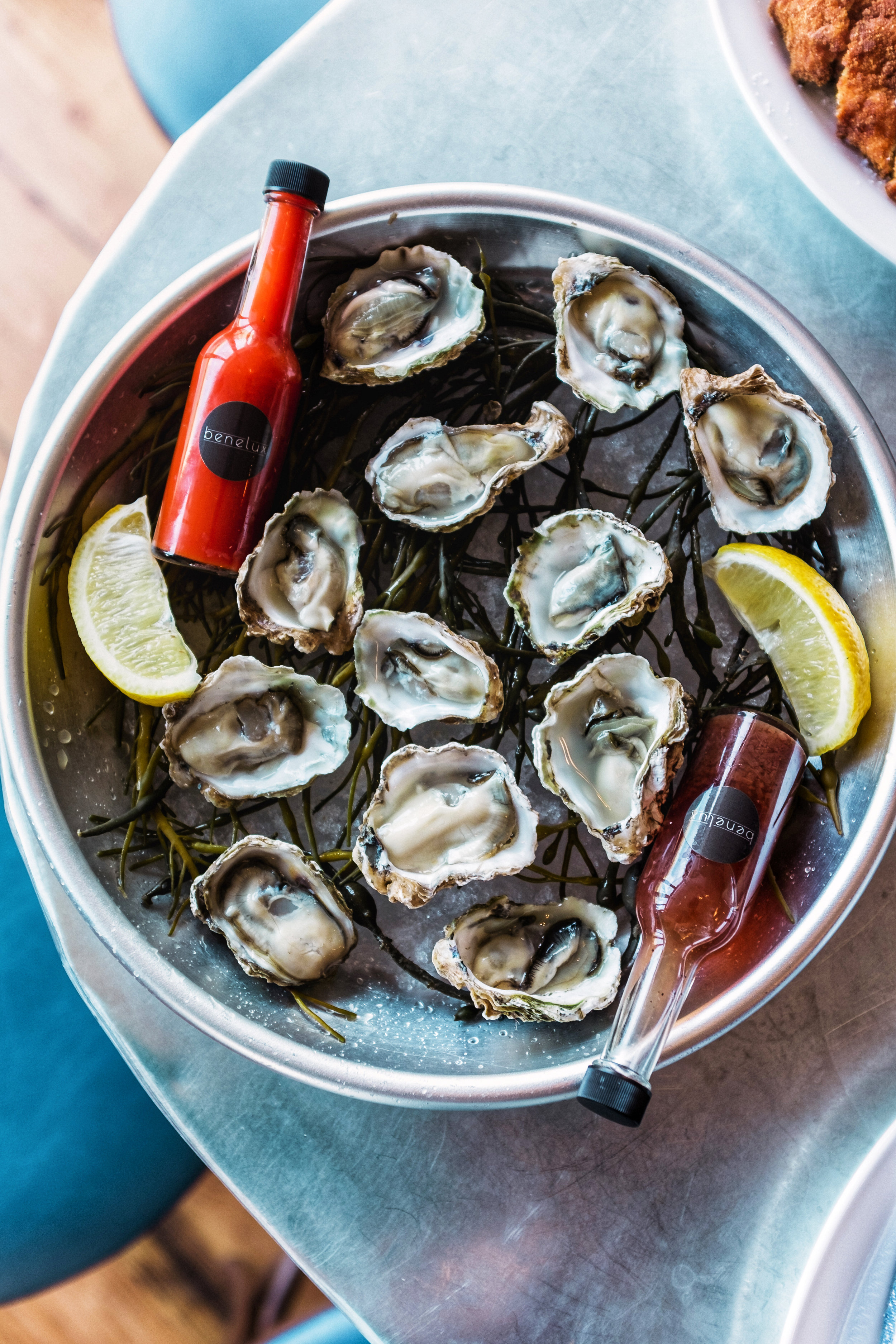 oysters at benelux