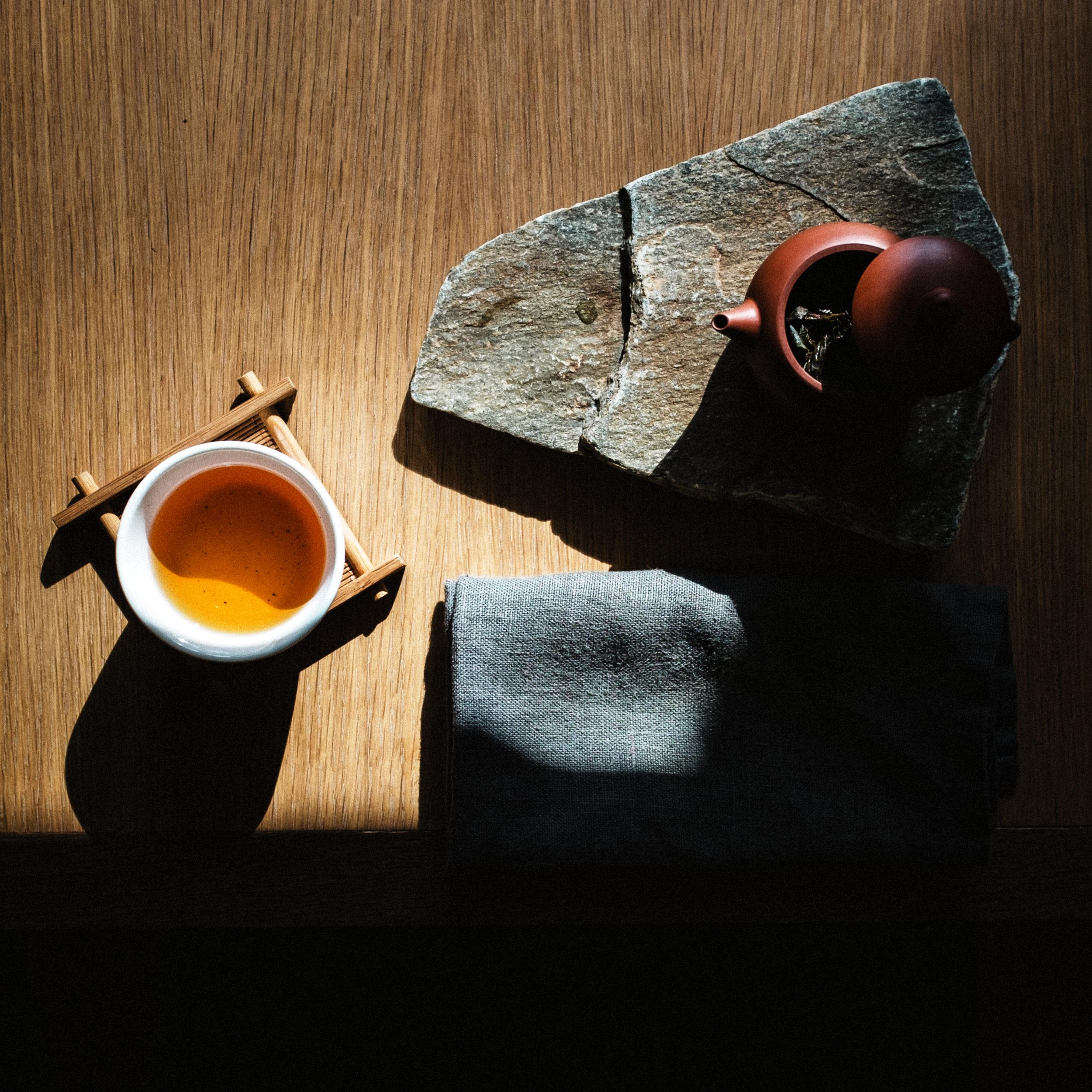 tea at floating mountain