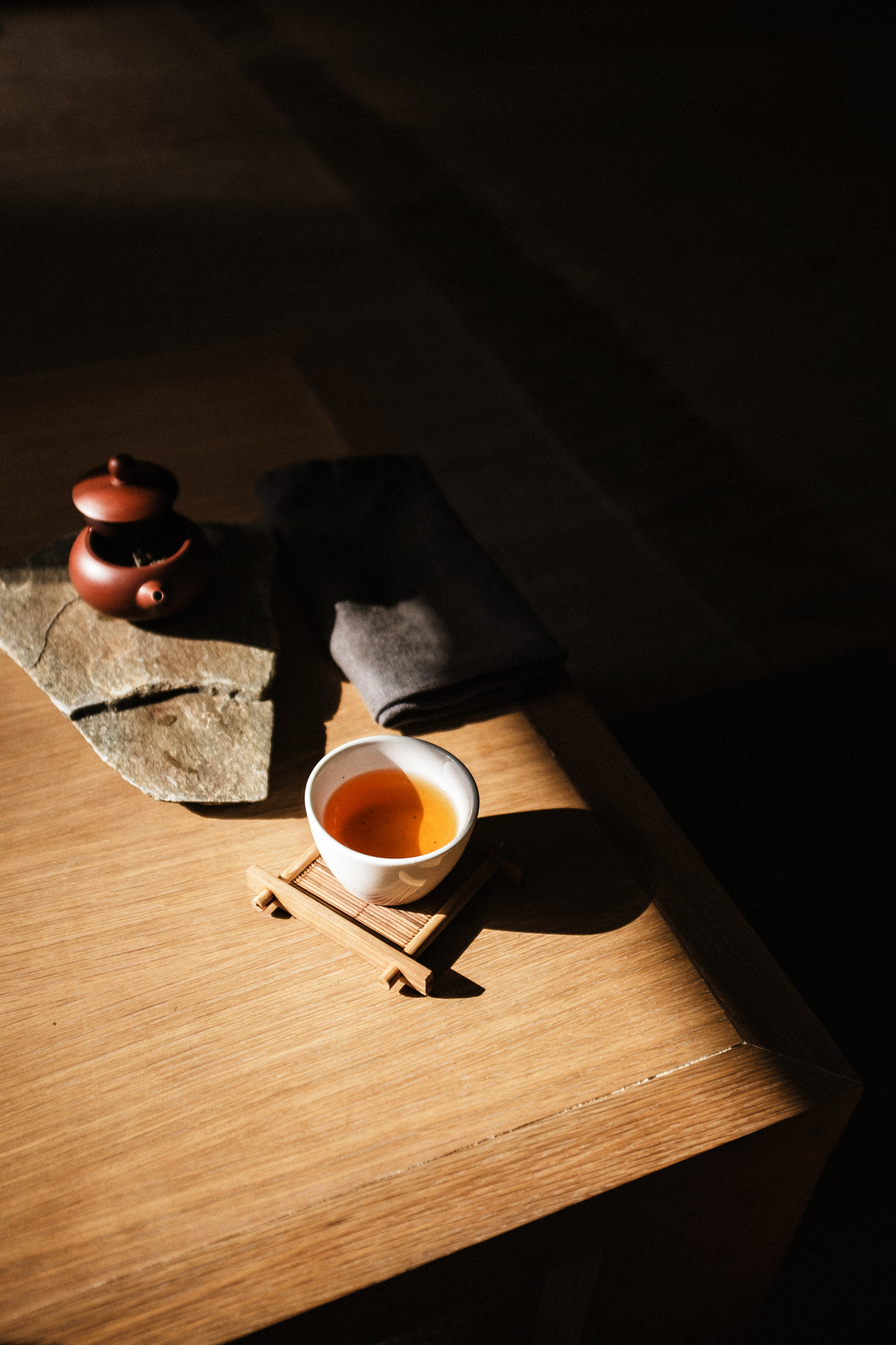 tea from floating mountain