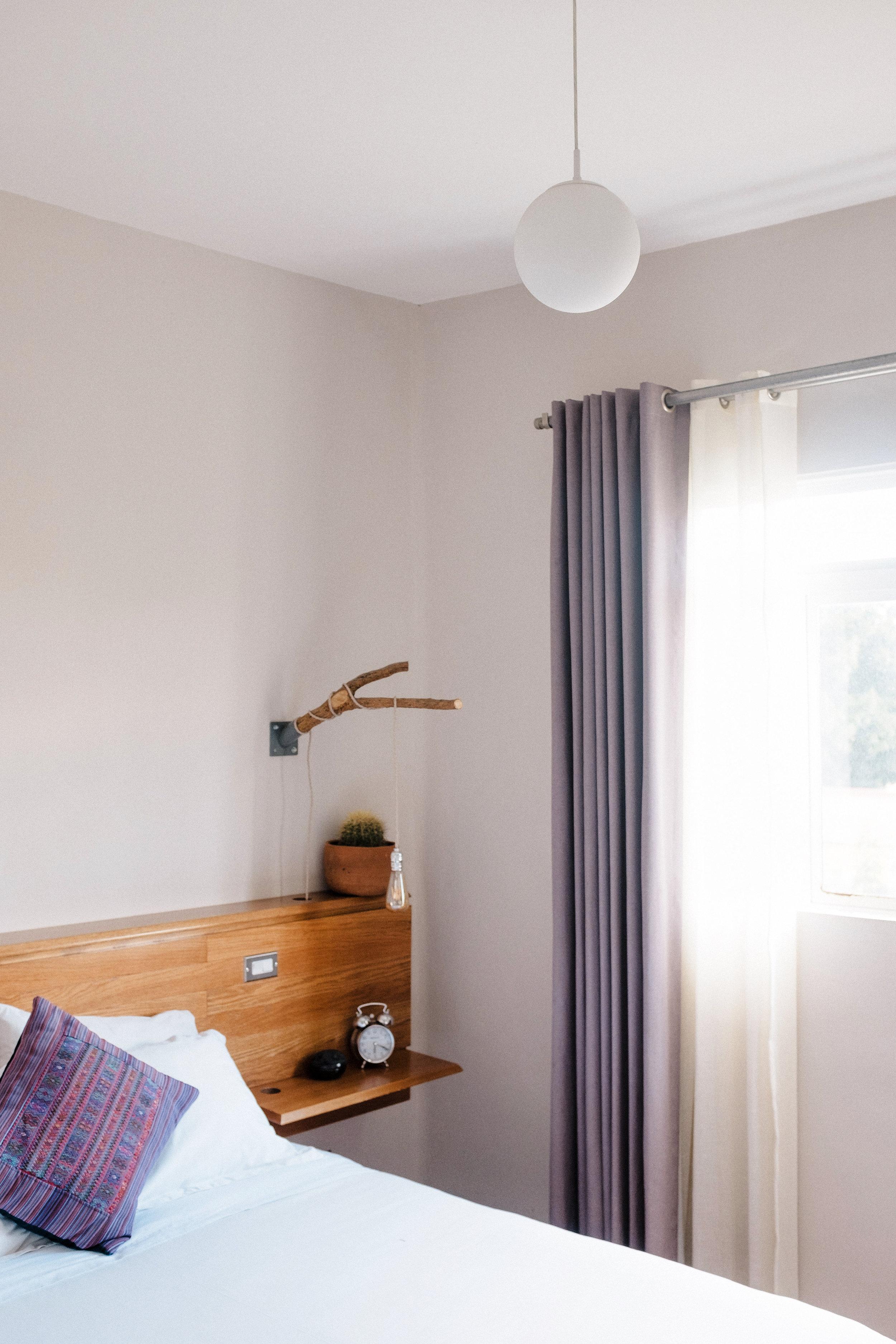 bedroom of chaya bnb