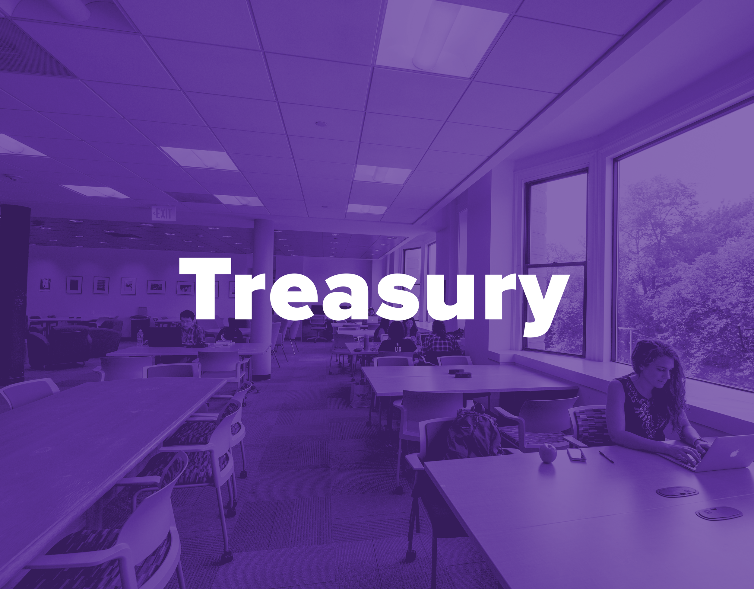 Treasury - Whether it's annual funding or an appeal request, we help SGA recognized organizations receive funding and bring their projects to life.