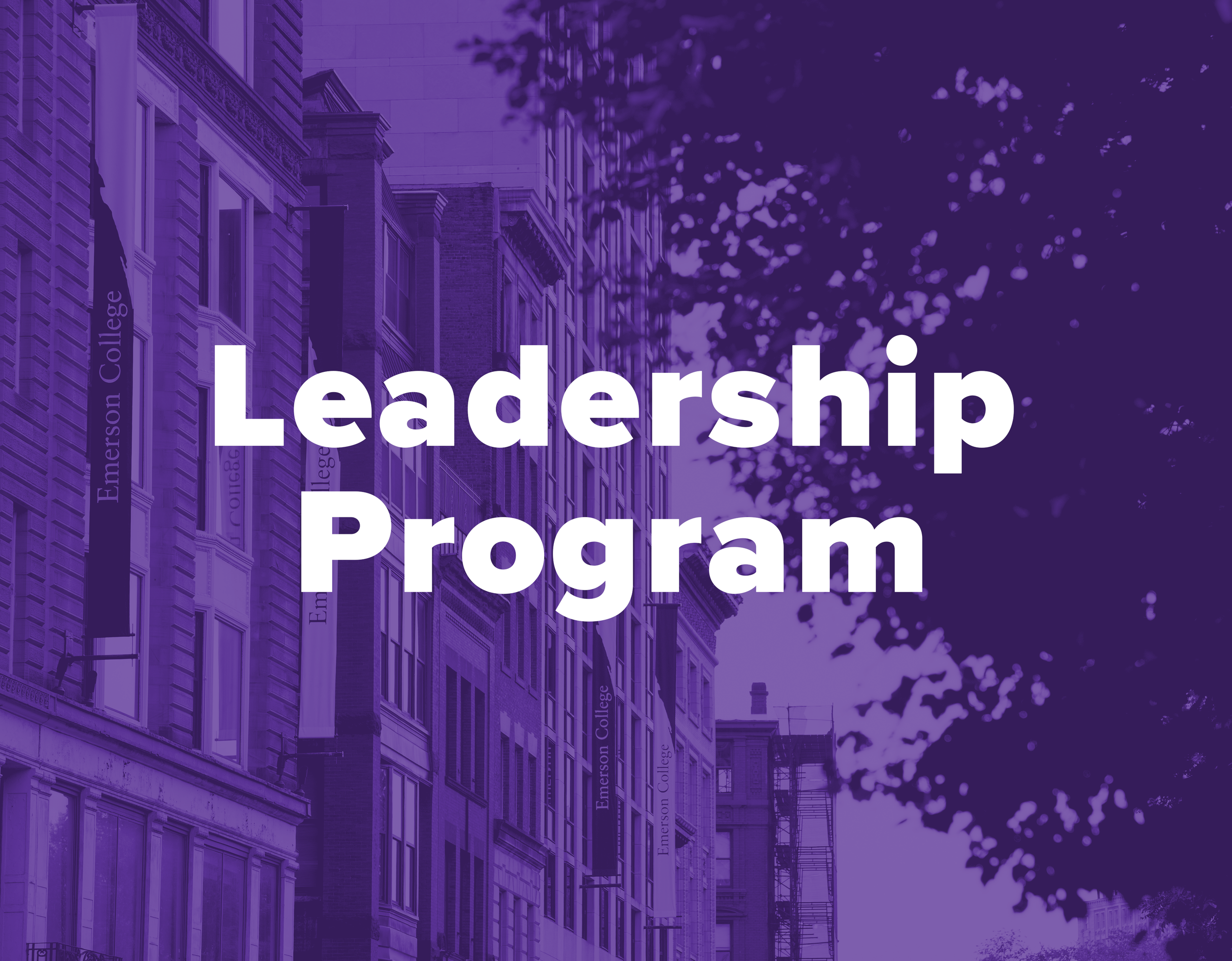 Student government Leadership program - Designed to build, develop, and enhance leadership skills to prepare students for representative leadership in student government, class councils, and beyond.