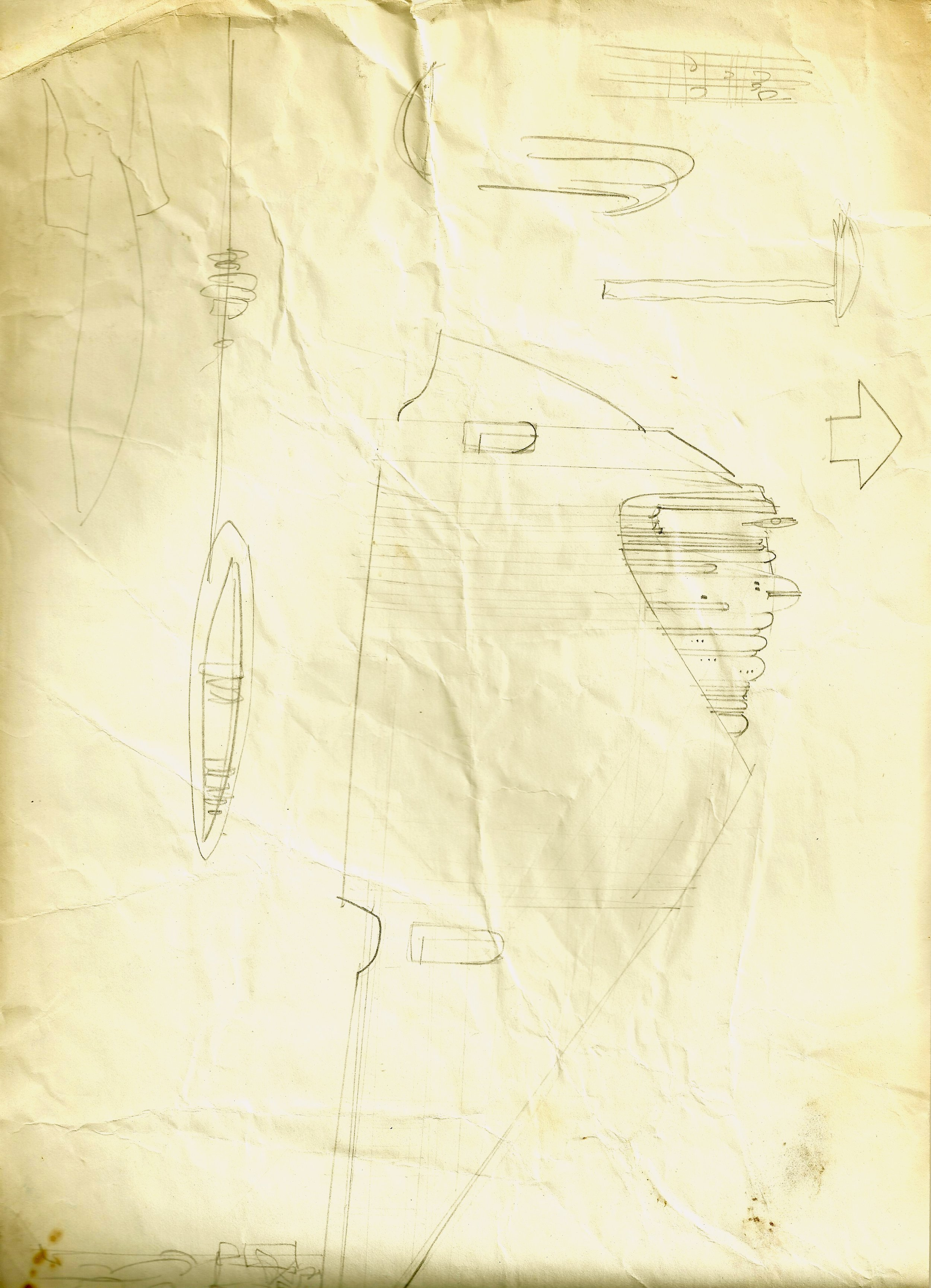 Concept art of possibly a Rebel Medical Frigate from THE EMPIRE STRIKES BACK- The Christopher Corey Smith Collection