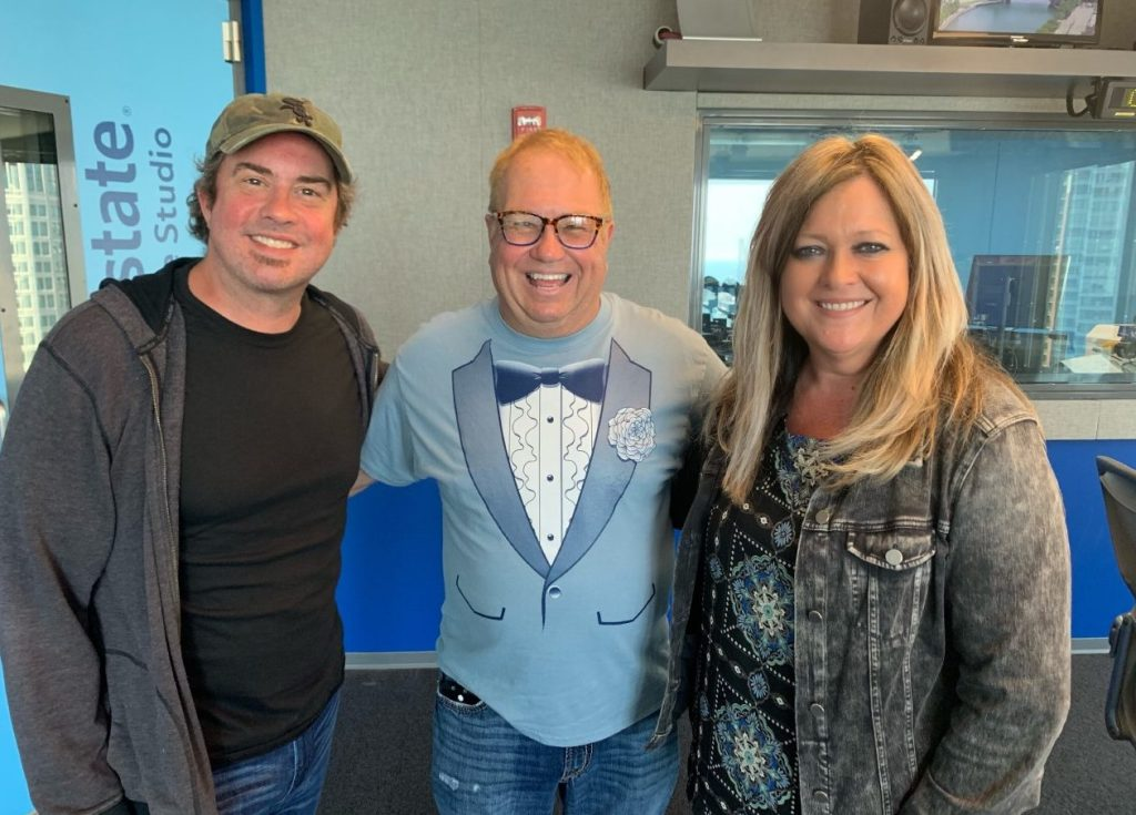 Listen to Jimmy Mac and Wendy Snyder on WGN Radio — Rebel
