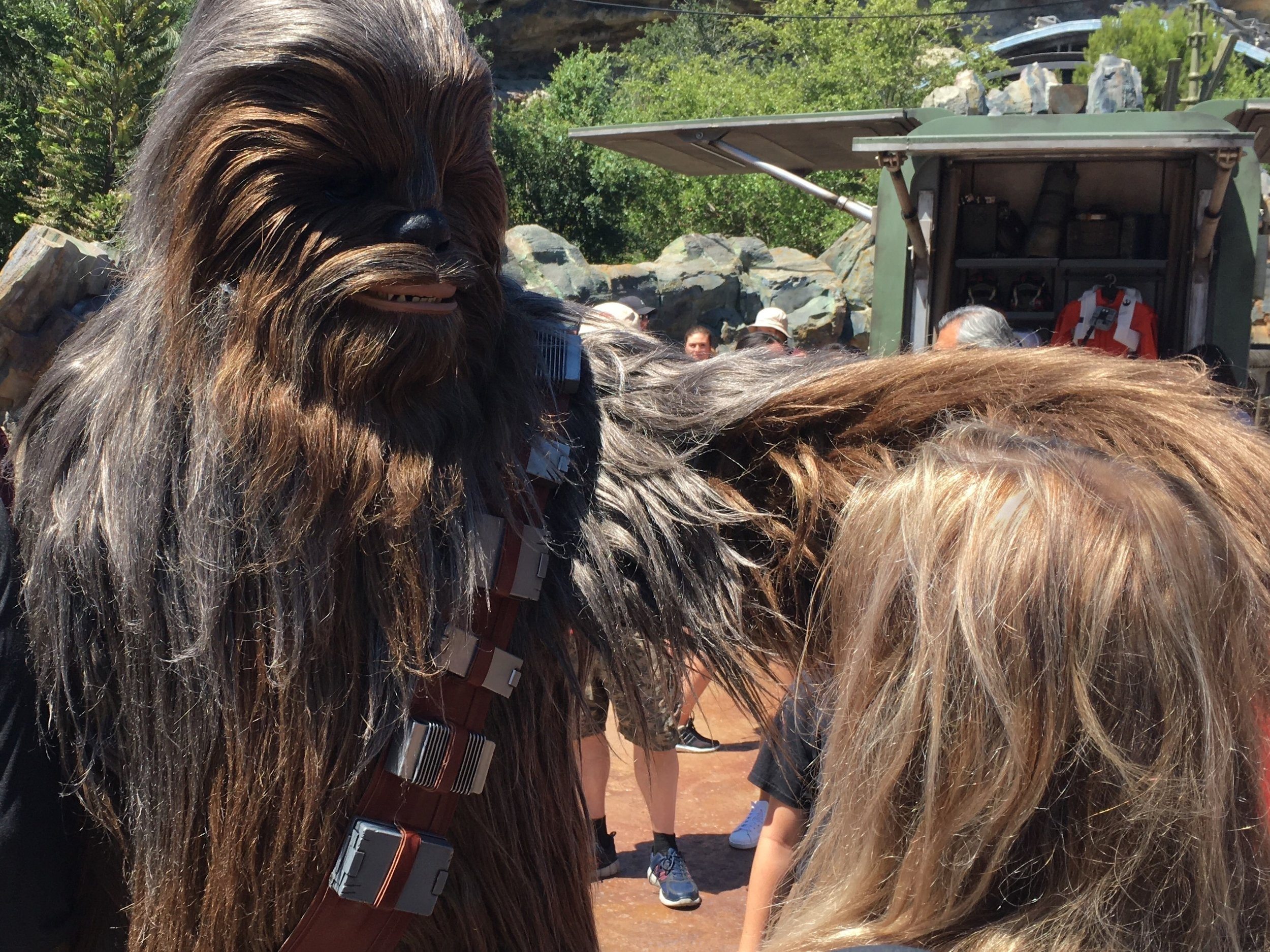 The Wookiee Makes The First Move…