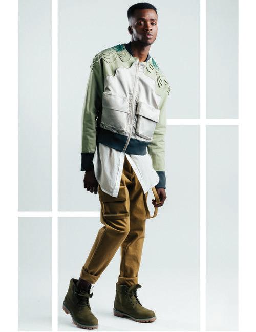Designer: Charlotte Tsui  Model: Tyshon