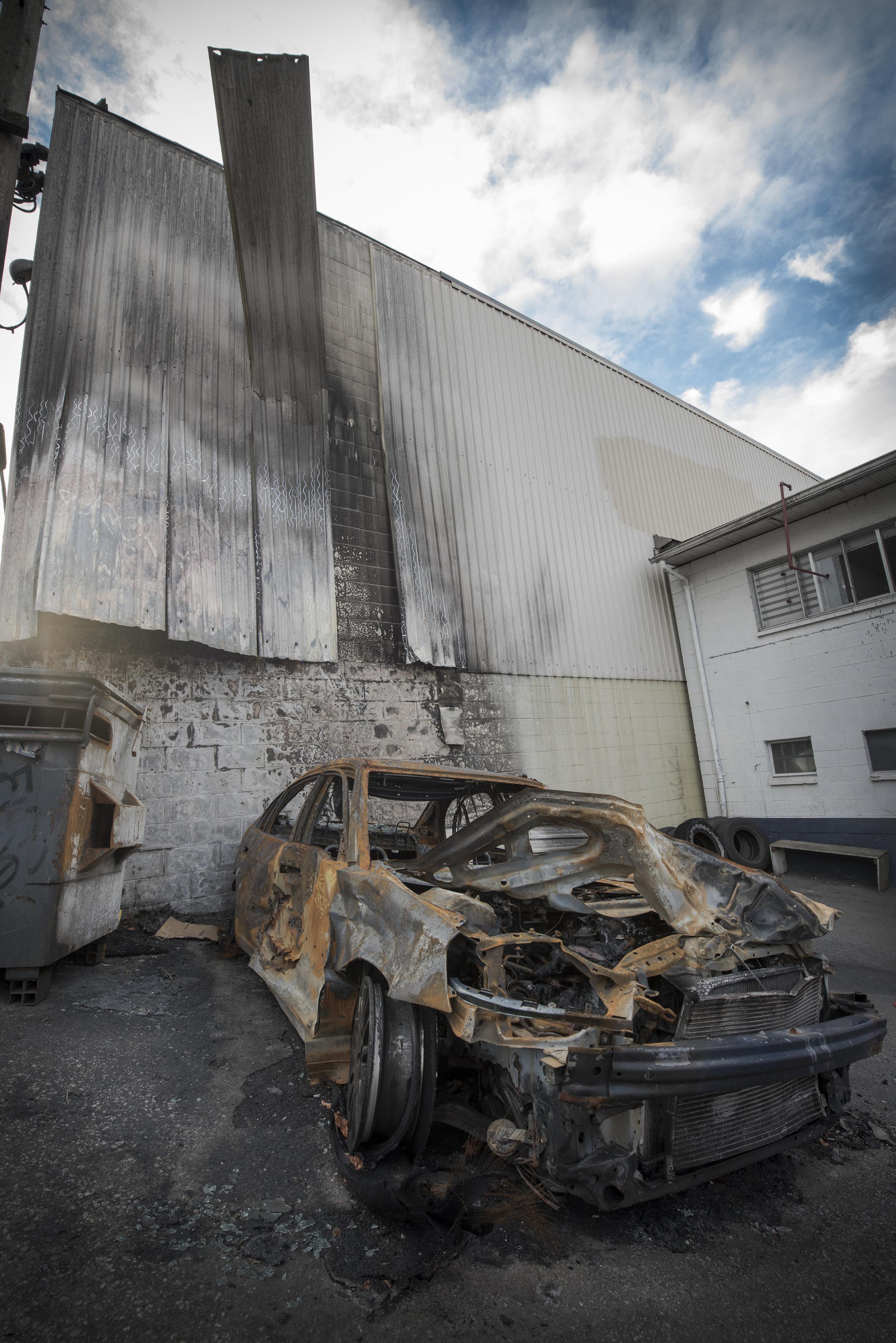 Ashbee Burned car.jpg