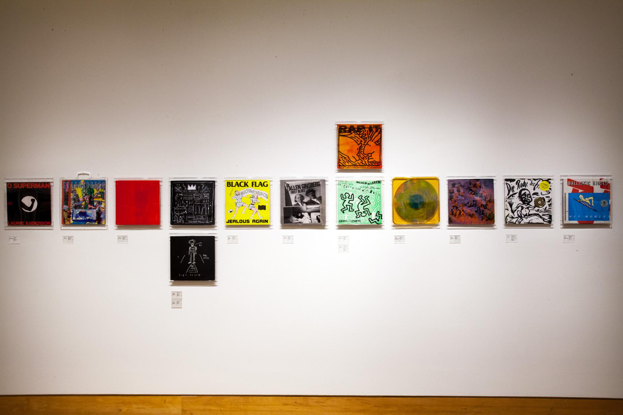 The new Vinyl Art show at Fraenkel Gallery