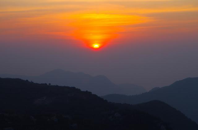 SUNSET IN LANTAU, HONG KONG