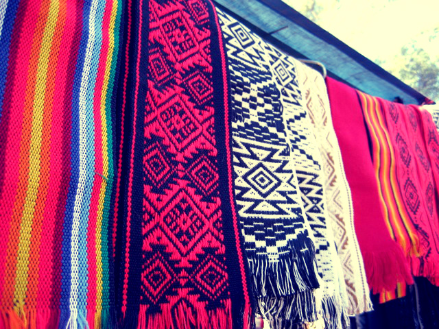 REGRET NOT BUYING THIS ENTIRE SCARF RACK. GORGEOUS.
