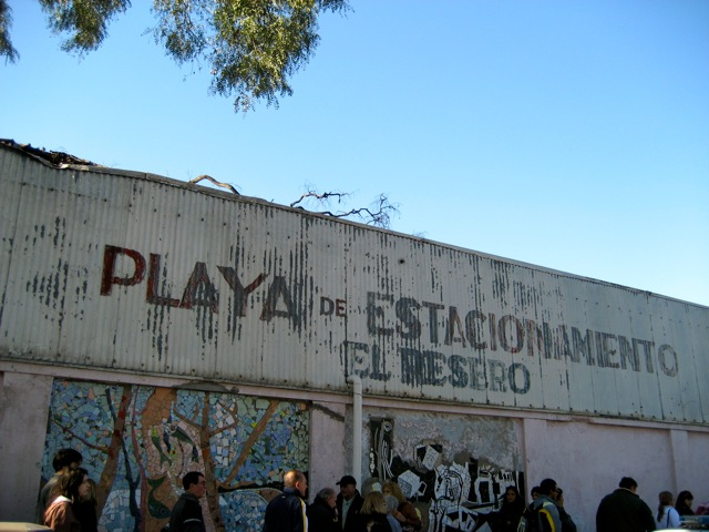 ENTERING FERIA DE MATADEROS