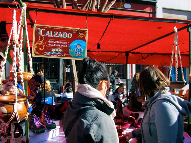 FIRST STALL STOP: SHOES AT CALZADO