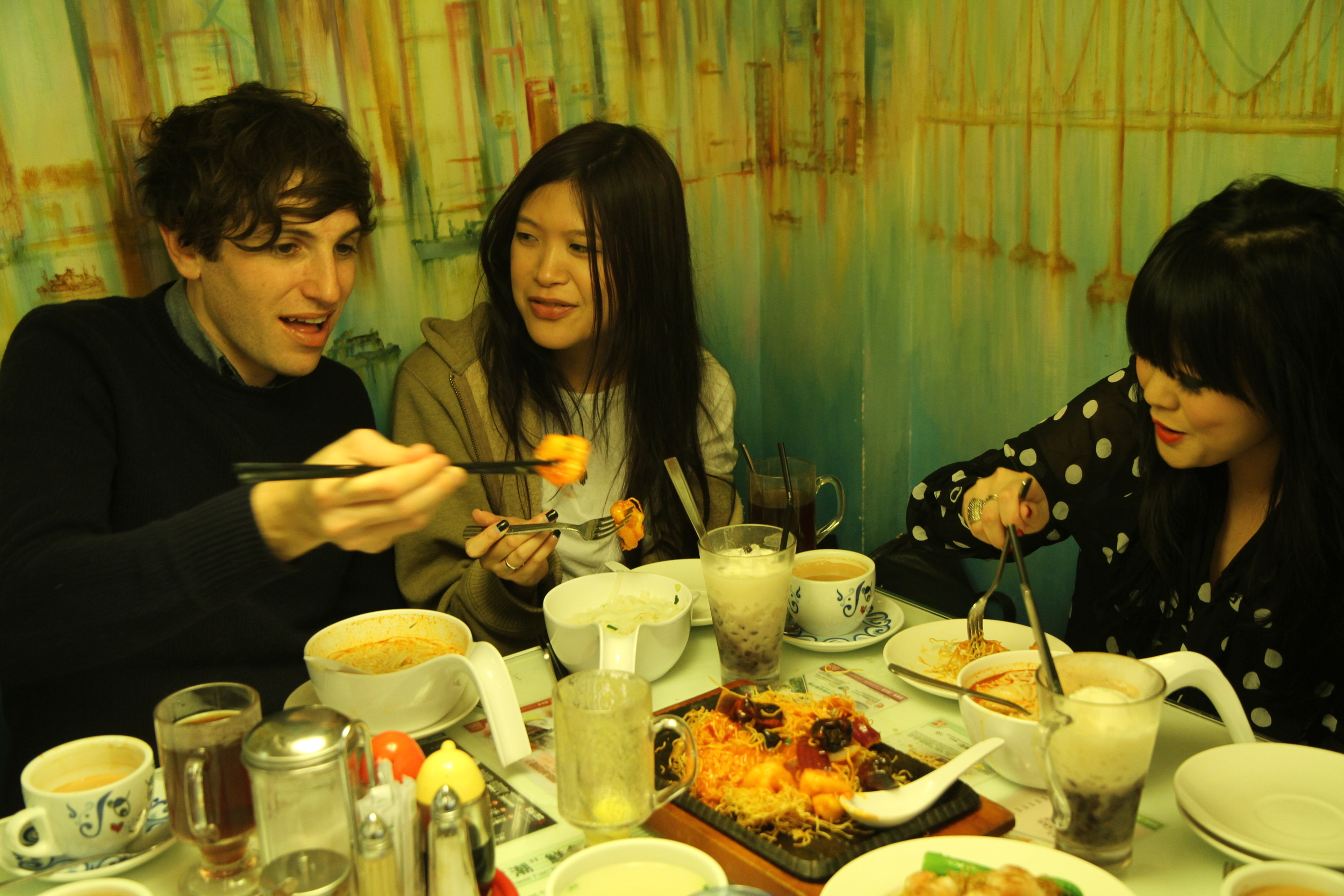 EATING AND SHOPPING WITH PAINS OF BEING PURE AT HEART