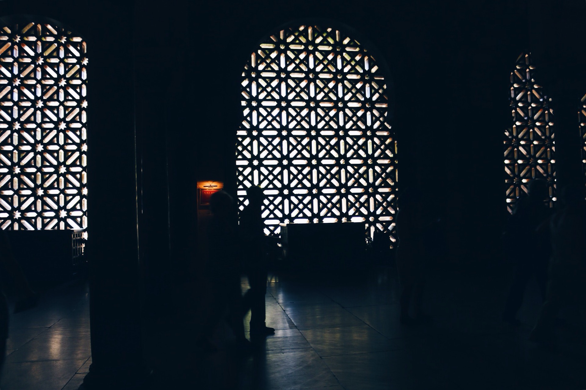 ENTRANCE TO THE MOSQUE-CATHEDRAL OF CORDOBA