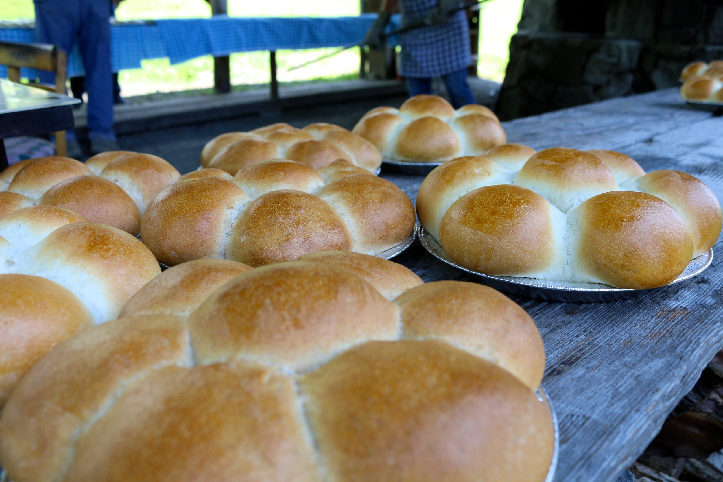 PORTUGUESE BREAD MAKING AT GREENWELL