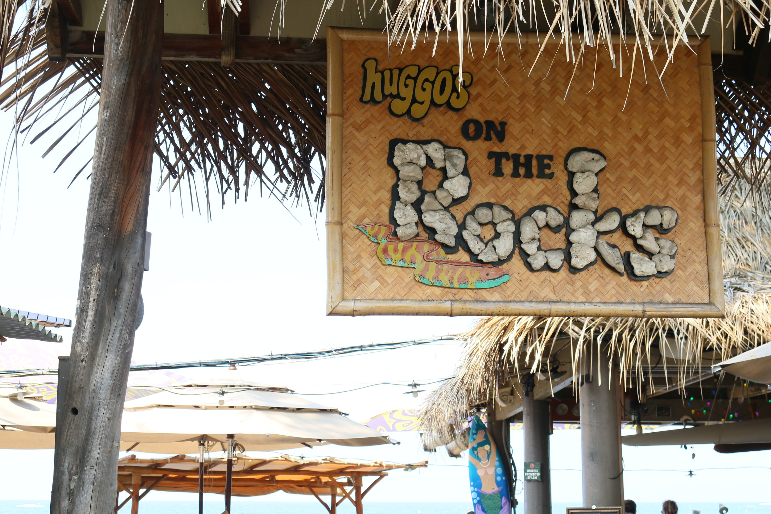 HAVE A MAI TAI, FEEL THE KAILUA BAY BREEZE, AND LISTEN TO SOME LIVE MUSIC AT  HUGGO'S ON THE ROCKS