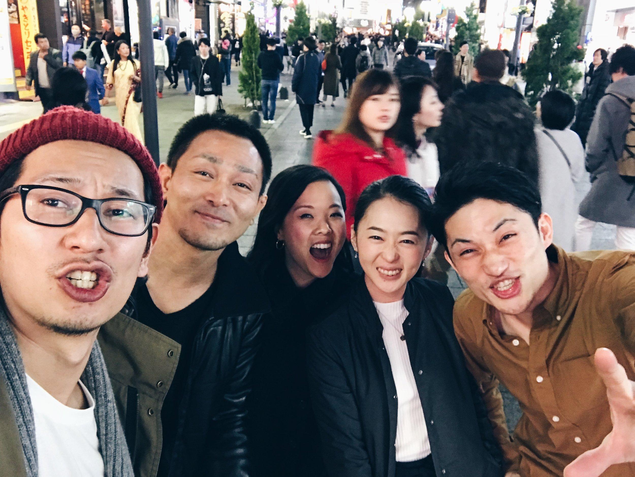 After Golden Gai, we hopped through  Shinjuku Omoide Yokocho  and  Kabukicho