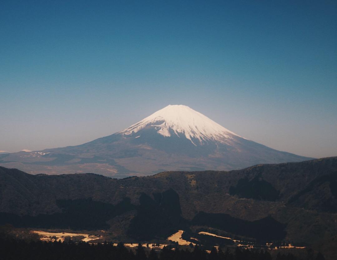 There it is! Fuji-saaaaan