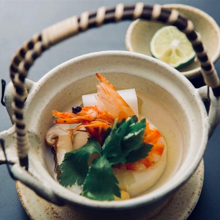 Shrimp broth