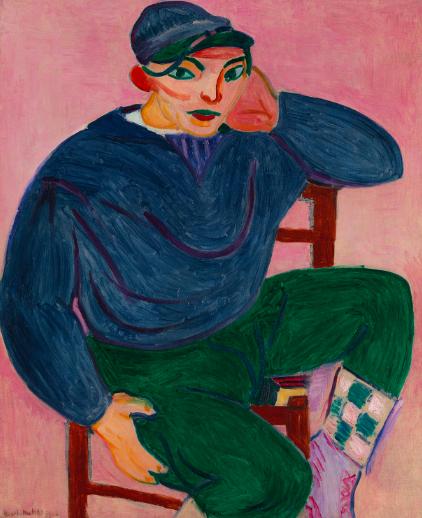 Young Sailor, 1905, Henri Matisse.
