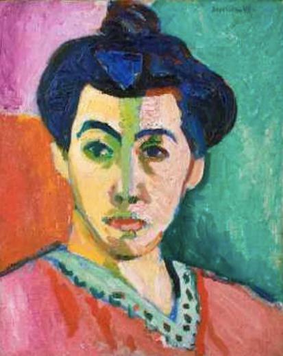 Green Stripe, 1905, Henri Matisse.