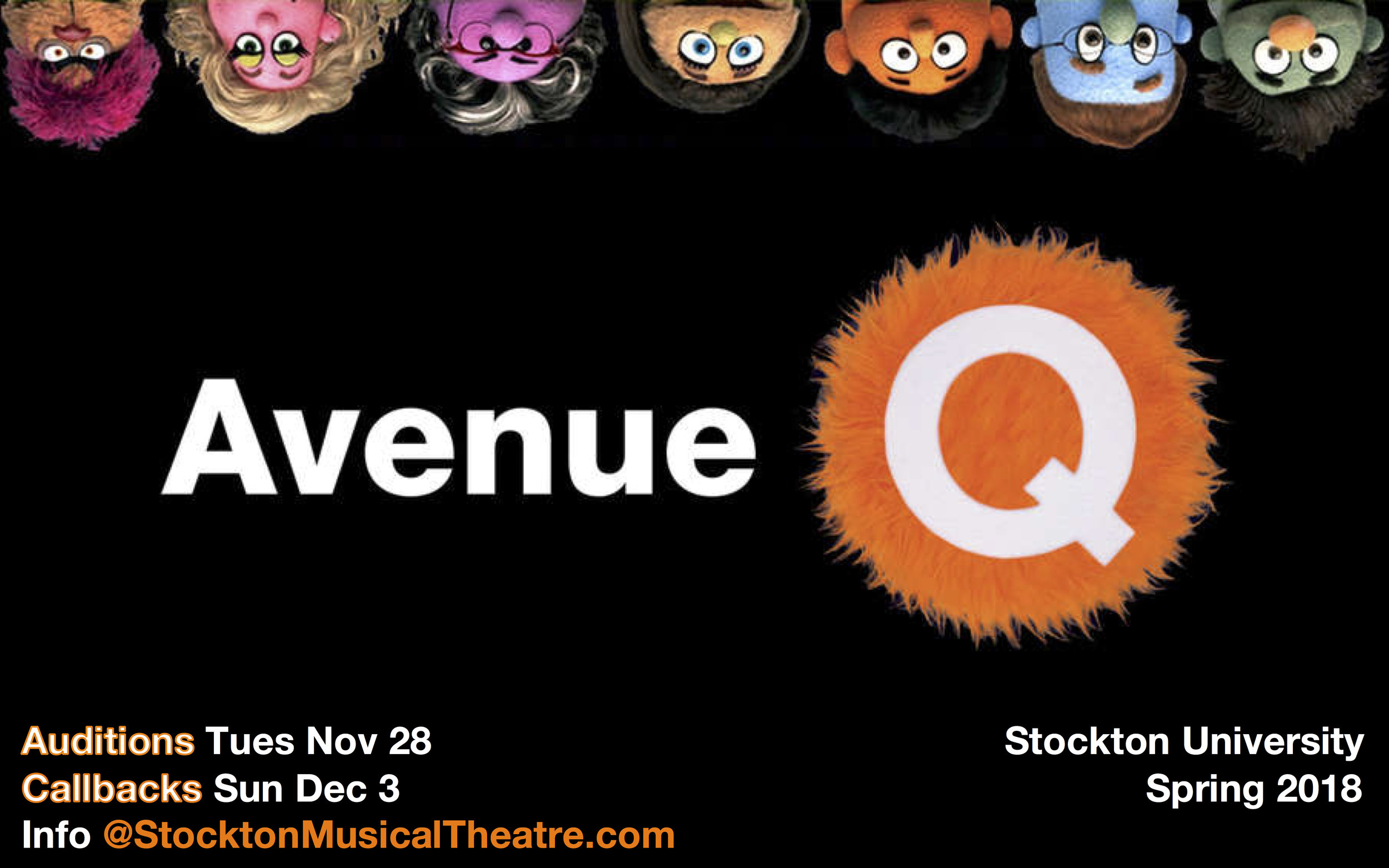 AVENUE Q Auditions poster 3.2 JPG.jpg