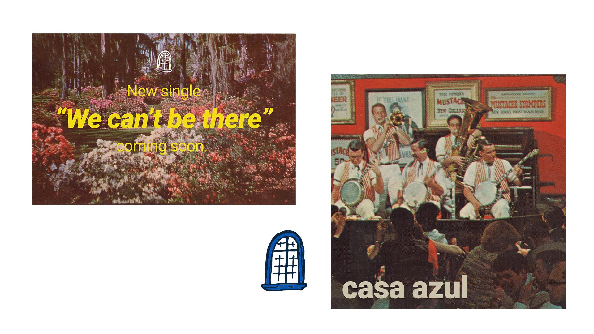 Graphics, cover, logo for Casa Azul