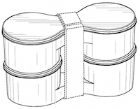 Container configuration    US D694628 S1