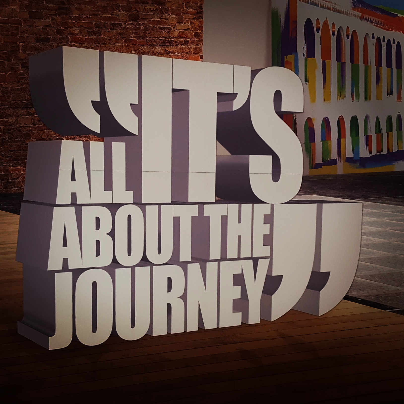 It's all about the journey!