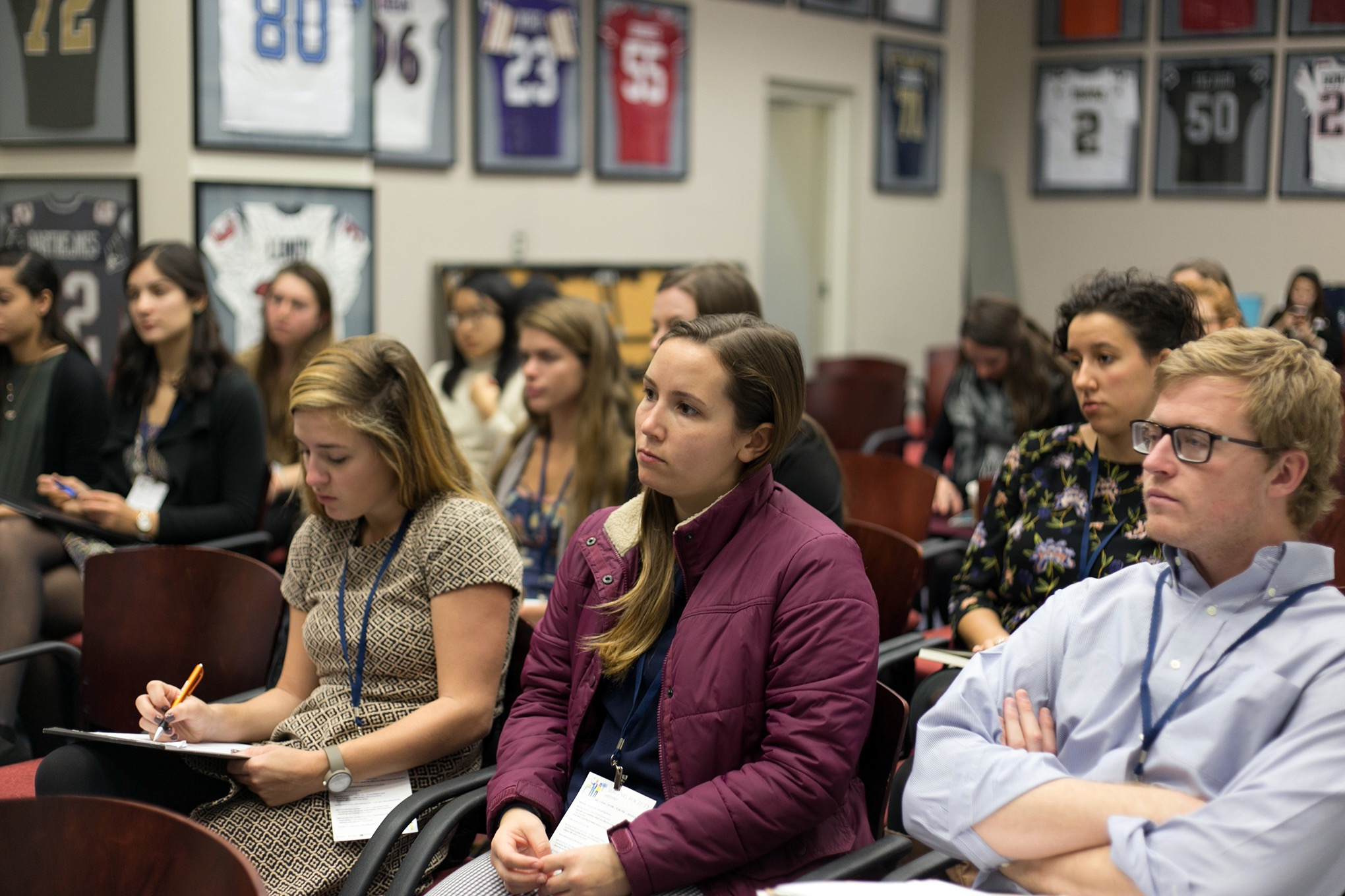 Nearly 60 UVA students, including Madison House volunteers and student leaders,attended this first Serving Society Conference.