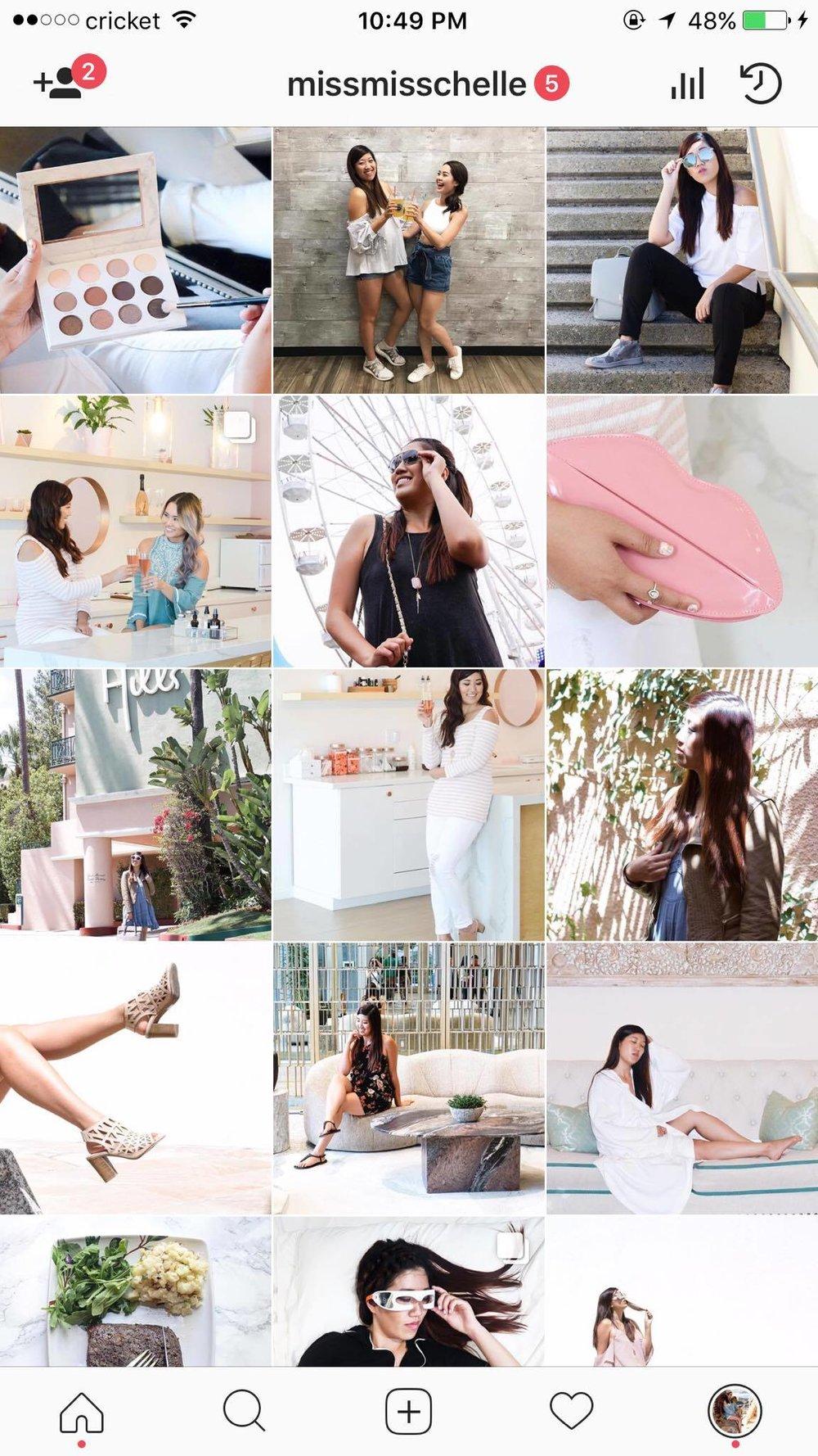 How I Organize My Instagram Feed — Missmisschelle