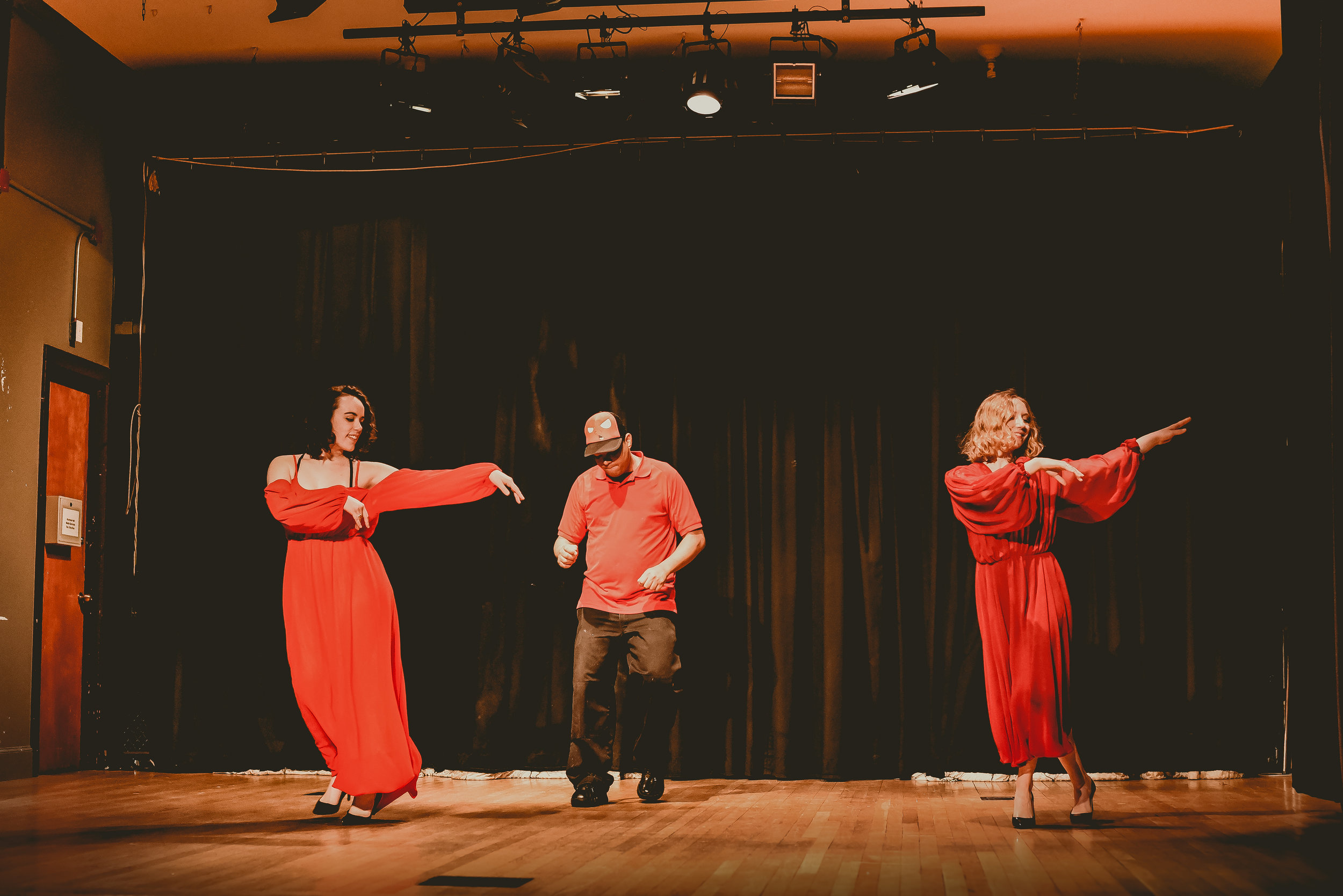Dance w/ the Professors -Simmons