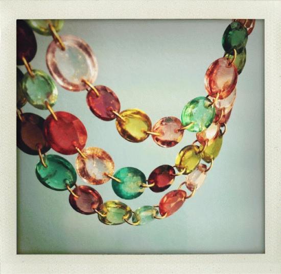 8am, CDG airport Paris, Marie Helene de Taillac rainbow gems