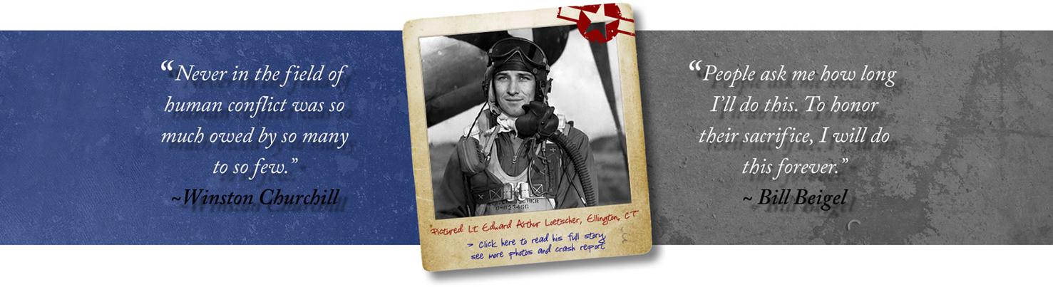 WW2 Researcher Bill Beigel