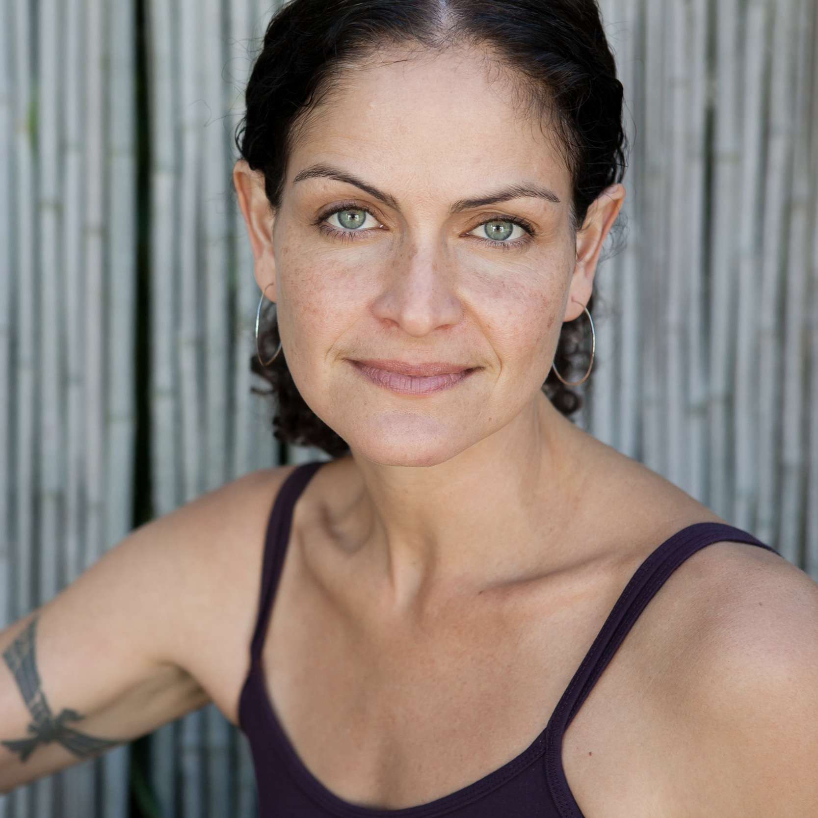 Hala Khouri - trauma-informed yogaHala is a global leading educator in yoga, trauma, and social justice. A teacher for nearly 30 years, she is also a trauma psychotherapist and longtime activist. Hala is a co-founder of Off the Mat and Into the World, a non-profit organization dedicated to utilizing the tools of yoga and somatic practices within a justice framework to inspire people to be conscious leaders of change. She is working on her first book on yoga, trauma, and stress, and is completing her PhD in Community Psychology, Liberation Studies and Eco-psychology