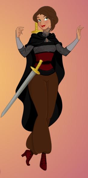 Gwen - Disneyfied