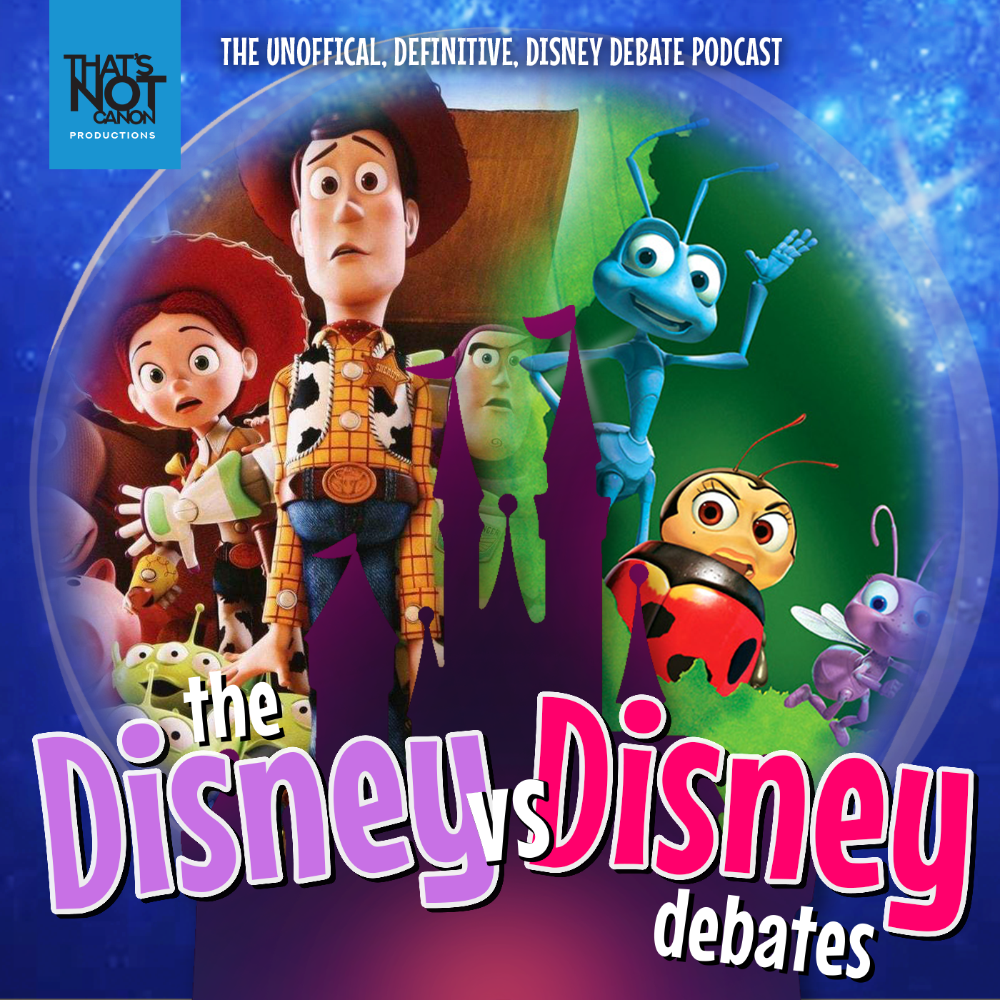 DvD-LOGO Episode Art 24 A Bugs Life vs Toy Story 3.png