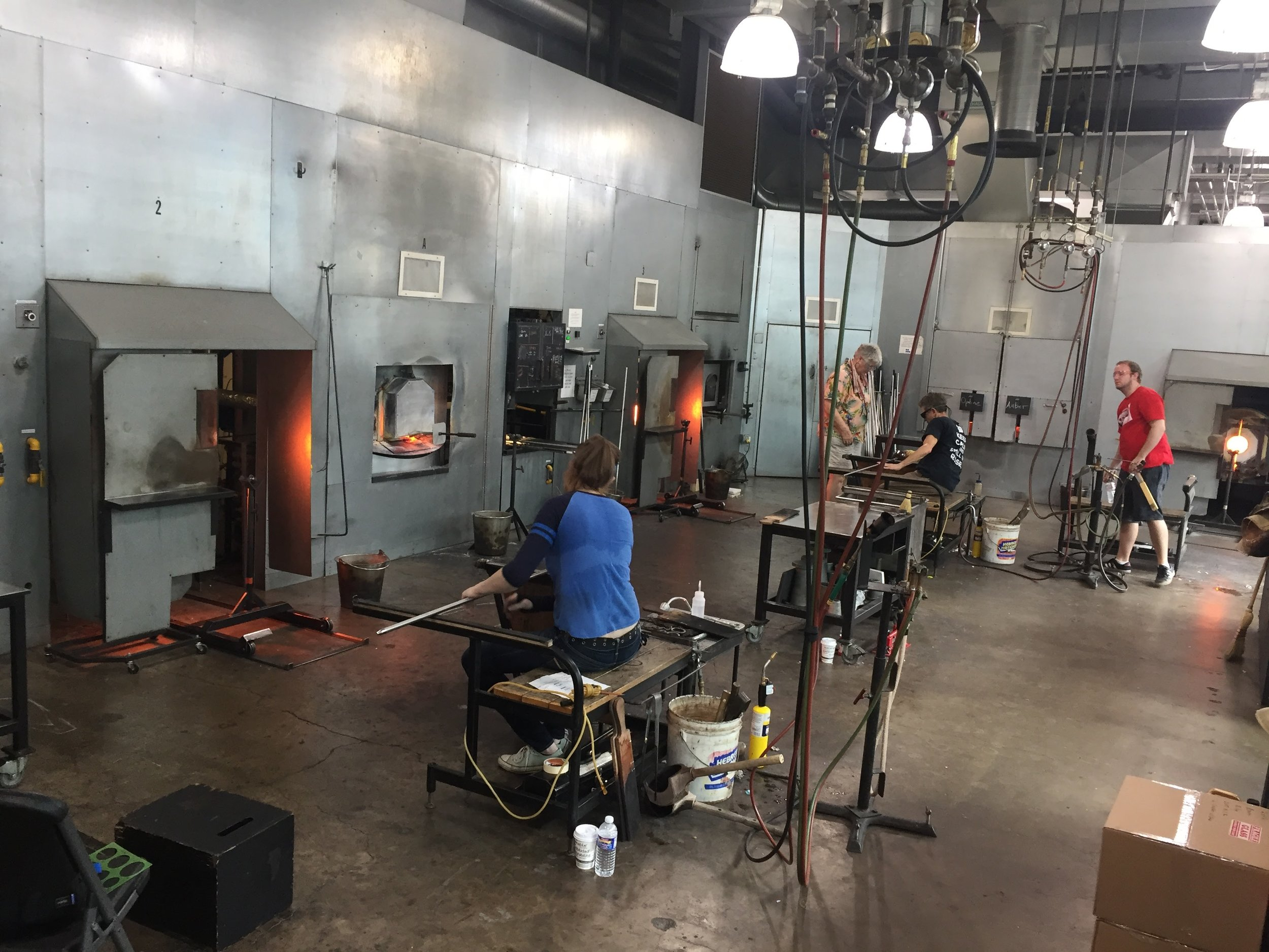 The hot studio