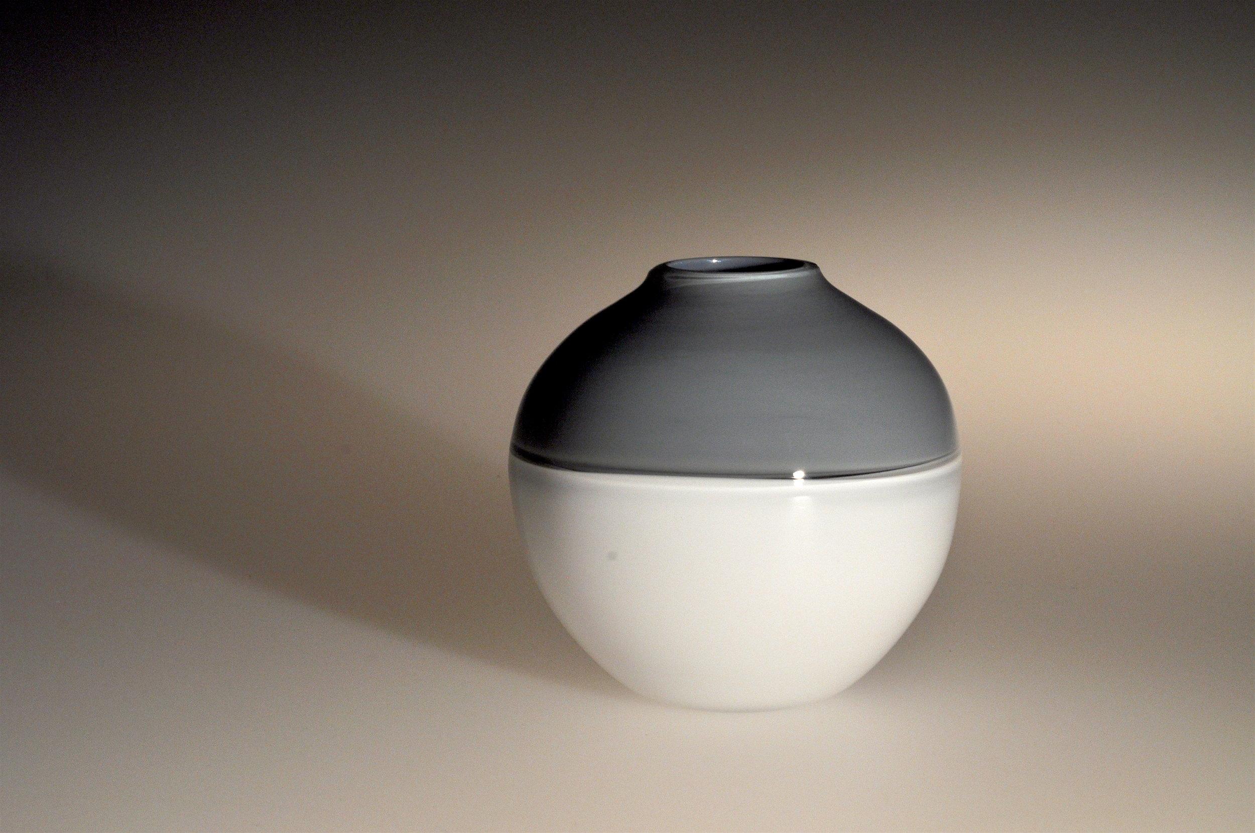Simple two colour incalmo vase