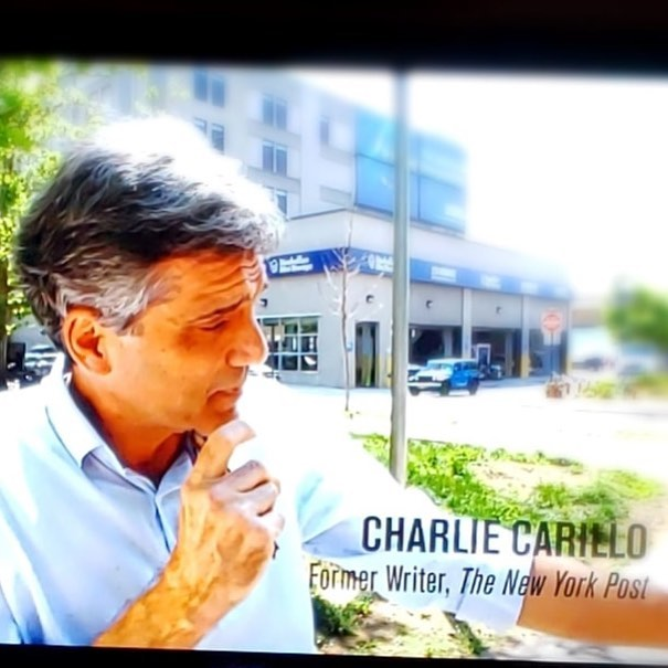"That's me, appearing in the new HBO documentary ""Breslin and Hamill: Deadline Artists."" It was a kick and an honor to take part in this film about two legendary New York City columnists. Link to official trailer in my bio now #documentary #deadlineartists #HBO"