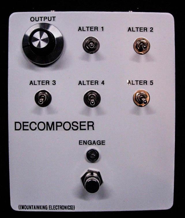 Big box DECOPOSER prototype.