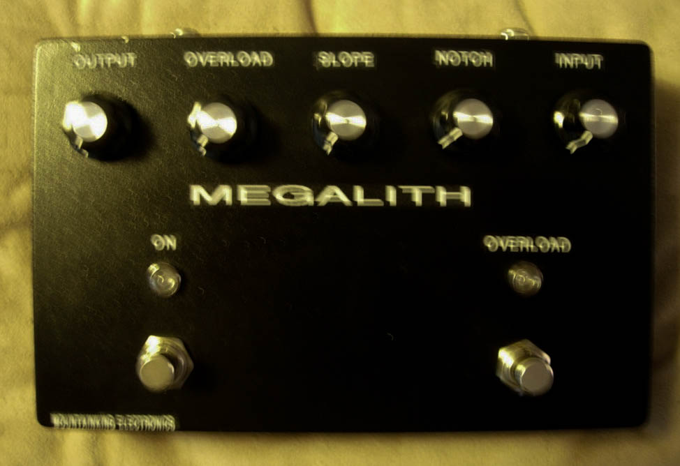 MEGALITH prototype. Built for Al Cisneros.